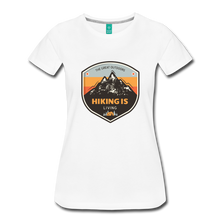 Load image into Gallery viewer, Women's Hiking T-Shirt - white