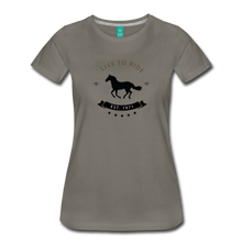 Load image into Gallery viewer, Women's Live to Ride T-Shirt - asphalt