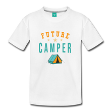 Load image into Gallery viewer, Toddler Future Camper T-Shirt - white