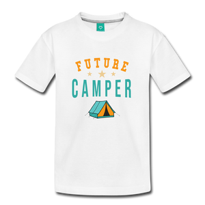 Toddler Future Camper T-Shirt - white