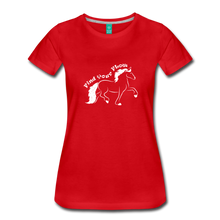Load image into Gallery viewer, Women's Find Your Flow T-Shirt - red