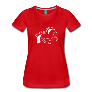 Women's Find Your Flow T-Shirt - red