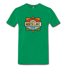 Load image into Gallery viewer, Men's North Lake T-Shirt - kelly green