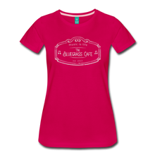 Load image into Gallery viewer, Women's The Bluegrass Cafe (music is life) T-Shirt - dark pink