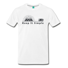 Load image into Gallery viewer, Men's RV Keep It Simple T-Shirt - white
