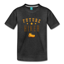 Load image into Gallery viewer, Toddler Future Hiker T-Shirt - charcoal gray