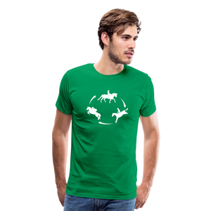 Men's 3-Day Eventing Circle T-Shirt - kelly green