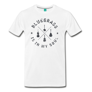 Men's Bluegrass is in my Soul T-Shirt - white
