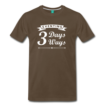 Load image into Gallery viewer, Men's 3 Days 3 Ways T-Shirt - noble brown