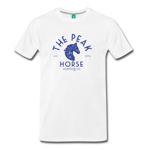 Men's The Peak Horse (art-deco) T-Shirt - white