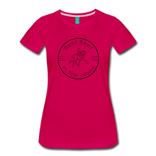 Load image into Gallery viewer, Women's Best Seat in the House T-Shirt - dark pink