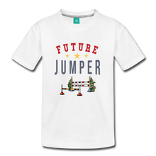 Load image into Gallery viewer, Toddler Future Jumper T-Shirt - white