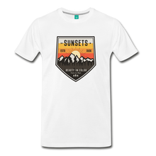 Load image into Gallery viewer, Men's Sunset T-Shirt - white