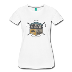 Women's Climbing T-Shirt - white