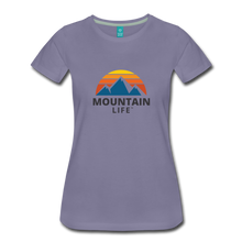Load image into Gallery viewer, Women's Mountain Life Shirt - washed violet