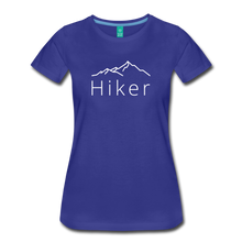 Load image into Gallery viewer, Women's Hiker T-Shirt - royal blue