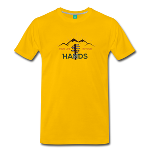 Men's Your Life T-Shirt - sun yellow