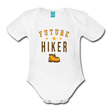 Load image into Gallery viewer, Future Hiker Baby Bodysuit - white