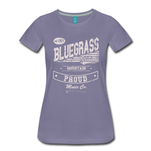 Load image into Gallery viewer, Women's Bluegrass Original T-Shirt - washed violet