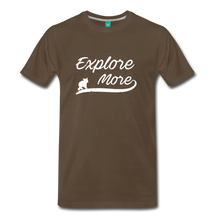 Load image into Gallery viewer, Men's Explore More T-Shirt - noble brown