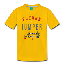Load image into Gallery viewer, Kids' Future Jumper T-Shirt - sun yellow