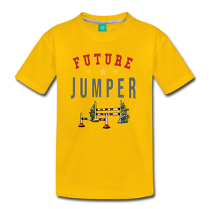Kids' Future Jumper T-Shirt - sun yellow