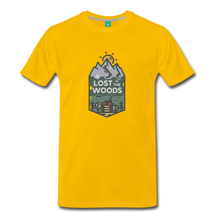 Load image into Gallery viewer, Men's Lost T-Shirt - sun yellow