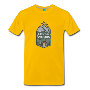 Men's Lost T-Shirt - sun yellow