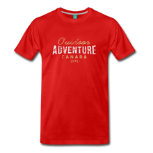 Load image into Gallery viewer, Men's Outdoor Adventure Canada T-Shirt - red