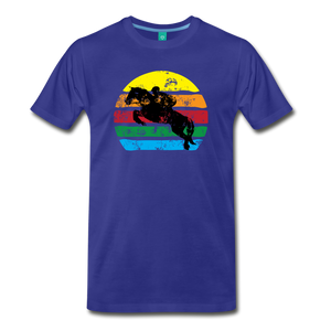 Men's Jumping Sun T-Shirt - royal blue