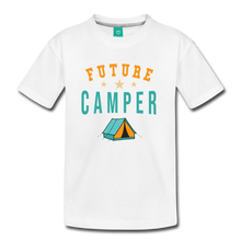Load image into Gallery viewer, Kids' Future Camper T-Shirt - white
