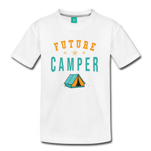 Kids' Future Camper T-Shirt - white