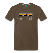 Load image into Gallery viewer, Men's Van Mountains T-Shirt - noble brown
