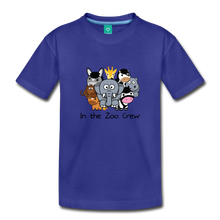 Load image into Gallery viewer, Toddler In the Zoo Crew T-Shirt - royal blue