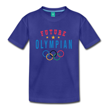 Load image into Gallery viewer, Kids' Future Olympian T-Shirt - royal blue