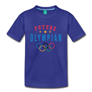 Kids' Future Olympian T-Shirt - royal blue