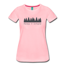 Load image into Gallery viewer, Women's Keep It Simple T-Shirt - pink