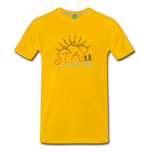 Load image into Gallery viewer, Men's Stay Wild T-Shirt - sun yellow