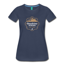 Load image into Gallery viewer, Women's Smokies Strong T-Shirt - navy