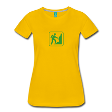 Load image into Gallery viewer, Women's Climb Icon T-Shirt - sun yellow