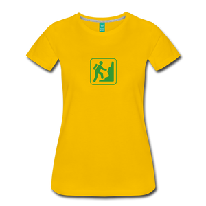 Women's Climb Icon T-Shirt - sun yellow