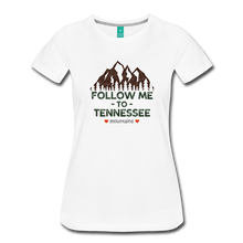 Load image into Gallery viewer, Women's Follow me to Tennessee T-Shirt - white