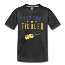 Load image into Gallery viewer, Kids' Future Fiddler T-Shirt - charcoal gray