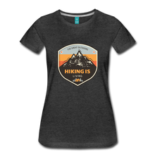 Load image into Gallery viewer, Women's Hiking T-Shirt - charcoal gray