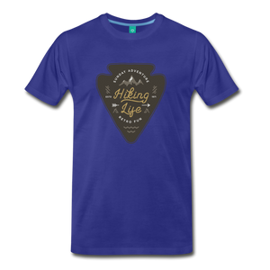 Men's Hiking Life T-Shirt - royal blue
