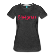 Load image into Gallery viewer, Women's Bluegrass Kinda Life T-Shirt - charcoal gray