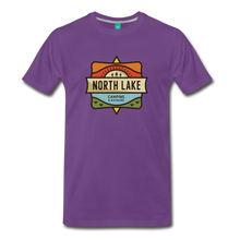 Load image into Gallery viewer, Men's North Lake T-Shirt - purple