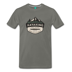 Men's Kayaking T-Shirt - asphalt