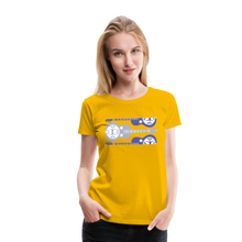 Load image into Gallery viewer, Women's Split Dobro T-Shirt - sun yellow