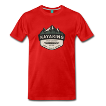 Load image into Gallery viewer, Men's Kayaking T-Shirt - red